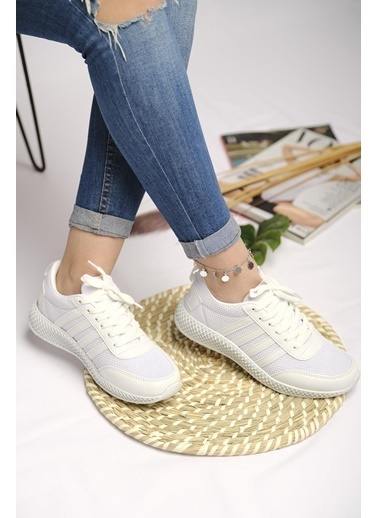 Oksit Spor Ayakkabı Beyaz